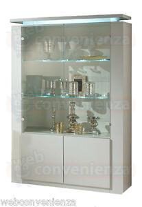 vetrina soggiorno salotto cristalliera diva special 2 ante mobile ... - Vetrina Contemporanea Soggiorno