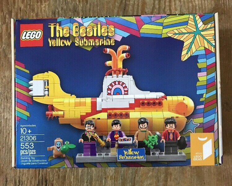 LEGO LEGO LEGO Yellow Submarine The Beatles + Pieces New  Free S&H  4dde24