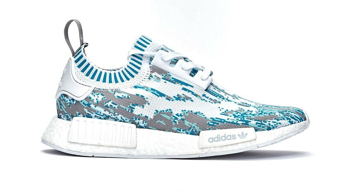 73966ece83e3c ... zkojmf2898-Athletic Shoes. Adidas x SNS Datamosh Aqua bluee NMD R1 PK  Boost Men s Size 7 BB6364