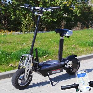 Elektro-Scooter-800-Watt-E-Scooter-Roller-36V-800W-Elektroroller-Neu