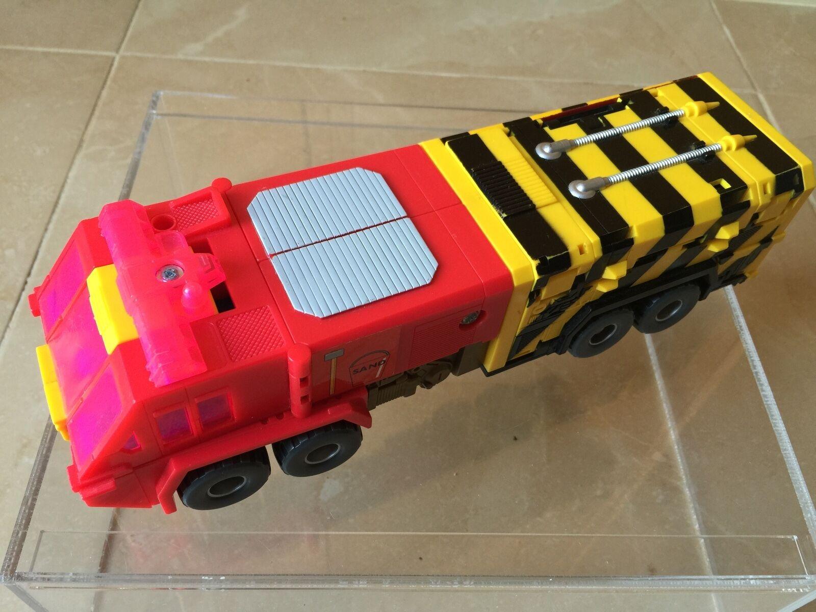 Transformers G2 1991 SPARK (broken) (PYRO EUROPEAN) obliterator