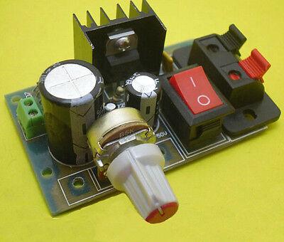 1Pcs LM317 DC 5V-35V to 1.25V-30V AC/DC Step Down Power Supply Module DIY Kit