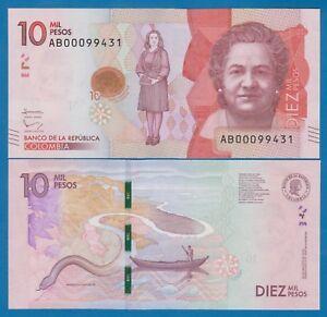 Colombia … … 10,000 Pesos … 2018 .. UNC