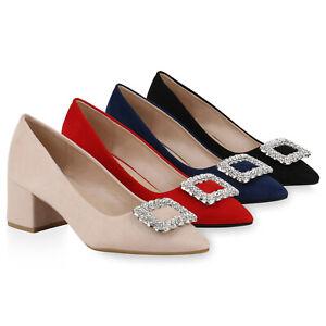 Details zu Damen Spitze Pumps Elegante Abendschuhe Strass Heels Absatzschuhe 832170 Schuhe