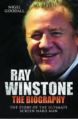 """""""AS NEW"""" Ray Winstone - the Biography: The Story of the Ultimate Screen Hard Man"""