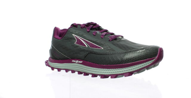Altra Womens Superior 3.5 Gray/Purple Running Shoes Size 6.5 (337292)