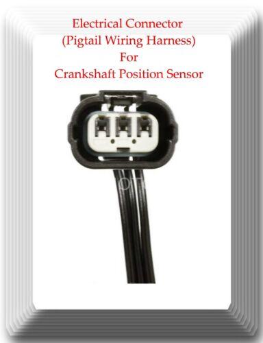 ACURA EL HONDA CIVIC 2001 to 2005 Crankshaft Position Sensor W// Connector Fits
