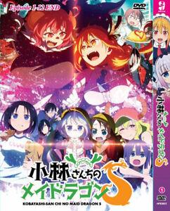 ANIME DVD KOBAYASHI-SAN CHI NO MAID DRAGON SEA 2 VOL.1-12 END [ENG SUBS] REG ALL
