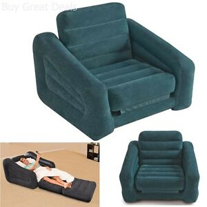 Image Is Loading Inflatable Pull Out Chair Seat Bed Couch Folding