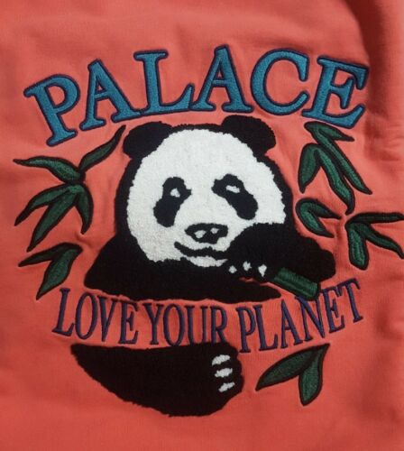 Pink Taille Crew Panda Small Palace Longsleeve 8nkw0OP