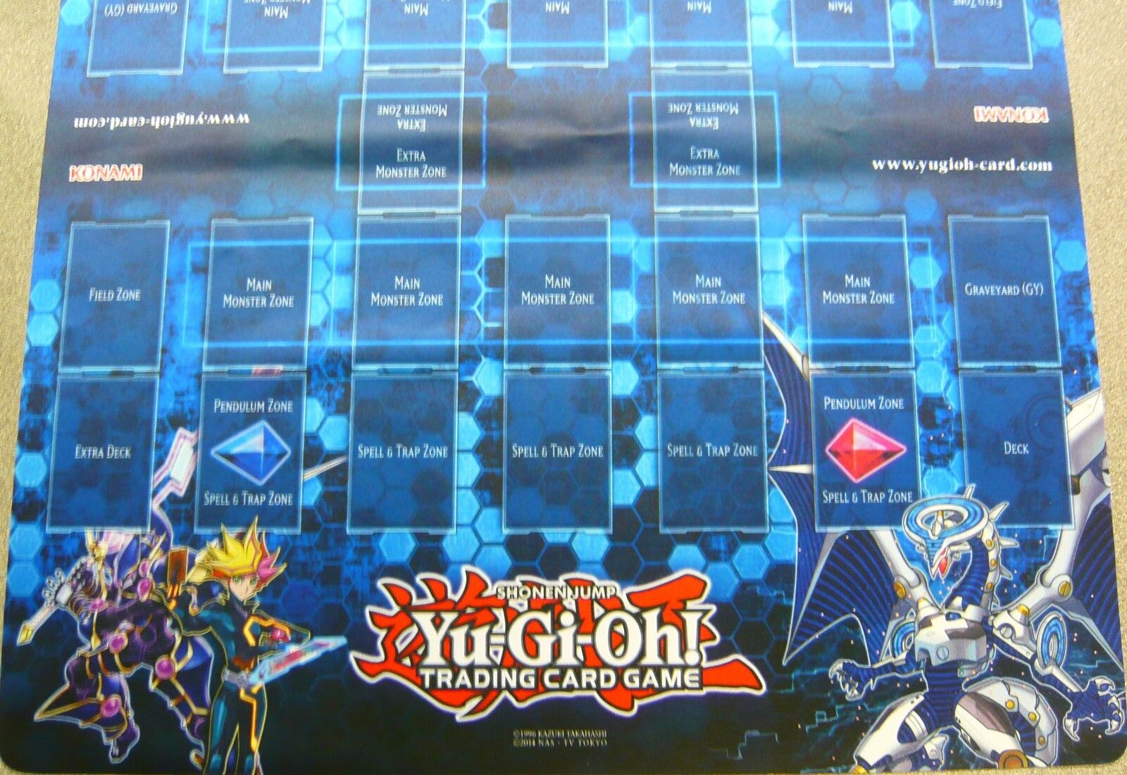 Yu-Gi-Oh  Double Playmat New & Sealed