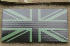UK IR Flag Patch UKSF SAS SBS SRR SFSG British Army Union Infrared Flag Green