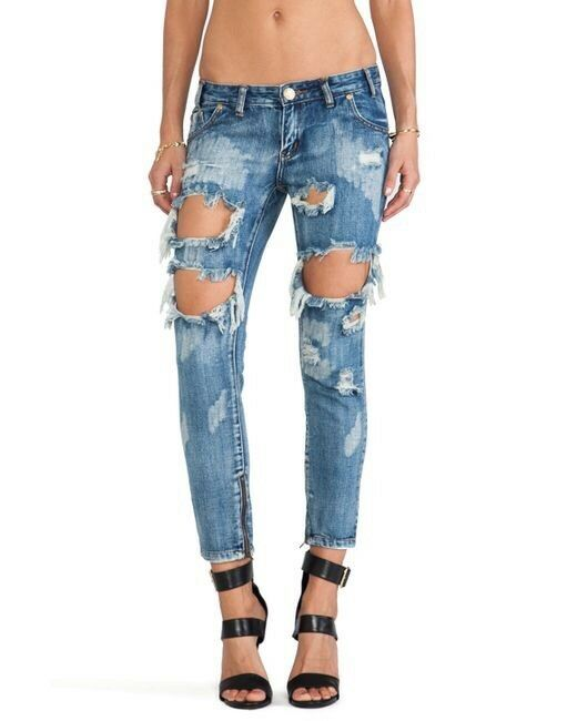 One Teaspoon Trashed Free Birds In Cobain Wash Size 25