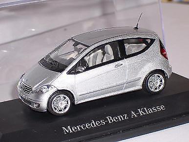 Mercedes-benz a-clase 2004-2012 3 puertas plata w169 1//43 Schuco modelo auto M..