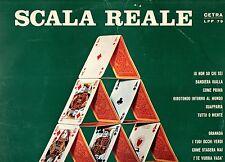 SCALA REALE disco LP 33 CLAUDIO VILLA FRED BONGUSTO GIANNI PETTENATI CARLA BONI