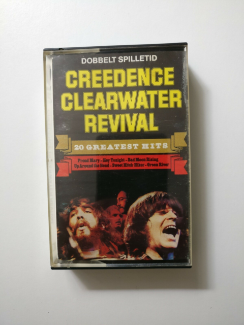 Bånd, Creedence Clearwater Revival, 20 Greatest…