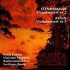 Stenhammar: Pianokonsert Nr. 2; Aulin: Violinkonsert Nr. 3 (CD, Jan-1992, Musica Sveciae)