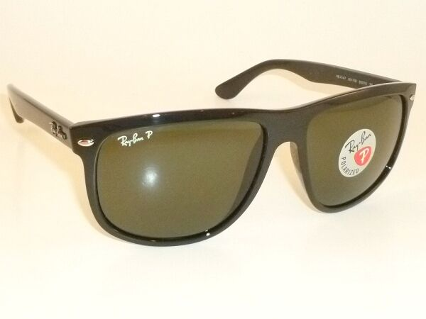 665e571f8a8 New RAY BAN Sunglasses Black Frame RB 4147 601 58 Polarized Green Lenses  56mm