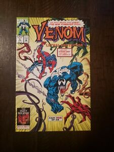 VENOM-LETHAL-PROTECTOR-5-1993-NM-1ST-APP-PHAGE-RIOT-AND-LASHER