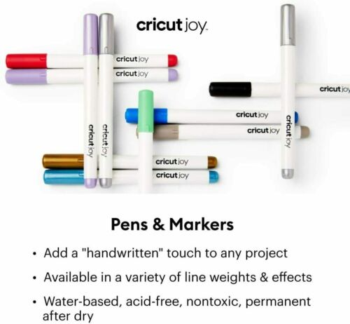 *New* Cricut JOY INFUSIBLE INK 0.4 PEN Black ONLY 3pc Unopened Free Ship