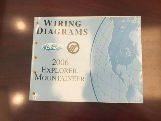 2006 Ford Explorer  Mountaineer Wiring Diagram
