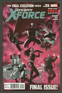 Uncanny X-Force #35 (2013) Rick Remender Phil Noto FINAL ISSUE ~ 1st Print