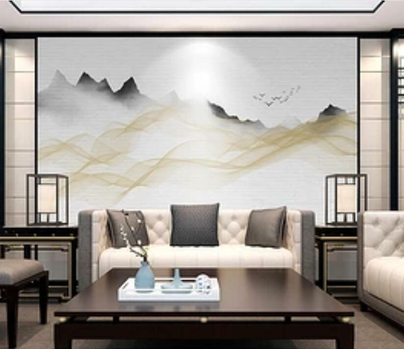 3D Landscape Painting I1494 Wallpaper Mural Sefl-adhesive Removable Sticker Wend
