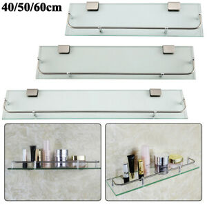 Glass-Bathroom-Shower-Shelf-Storage-Wall-Mounted-Holder-Caddies-Organizer-Bath