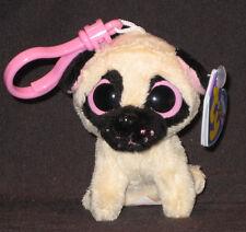 Ty Beanie Boos Pugsly Pug Dog 3