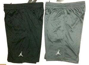 60c5ebb6e5c Boys Nike Air Jordan Dri-Fit Shorts Athletic Sizes M L XL Black Gray ...