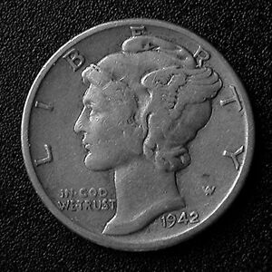 1942-42-Liberty-Dime-Dbl-Date-amp-Serif-missing-in-039-G-039-GOD-Rare-PRICE-REDUCED