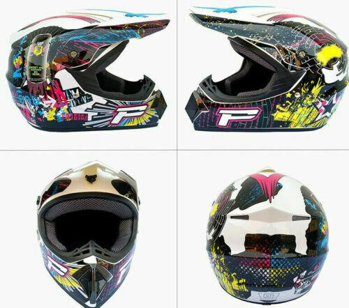OffRoad Full Face Mountain Bike Helmet Bicycle Motorcycle MTB BMX SkateSports