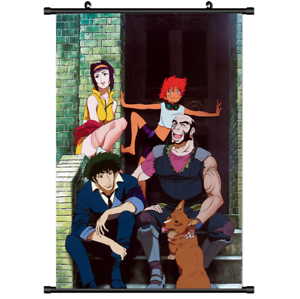 "Hot Japan Anime Cowboy Bebop Home Decor Poster Wall Scroll 8/""x12/"" P6"