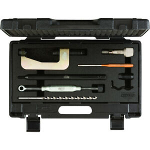 KS Tools Ausbohr-Satz für Klemmschraube für VAG, 8-tlg ausbohr-satz
