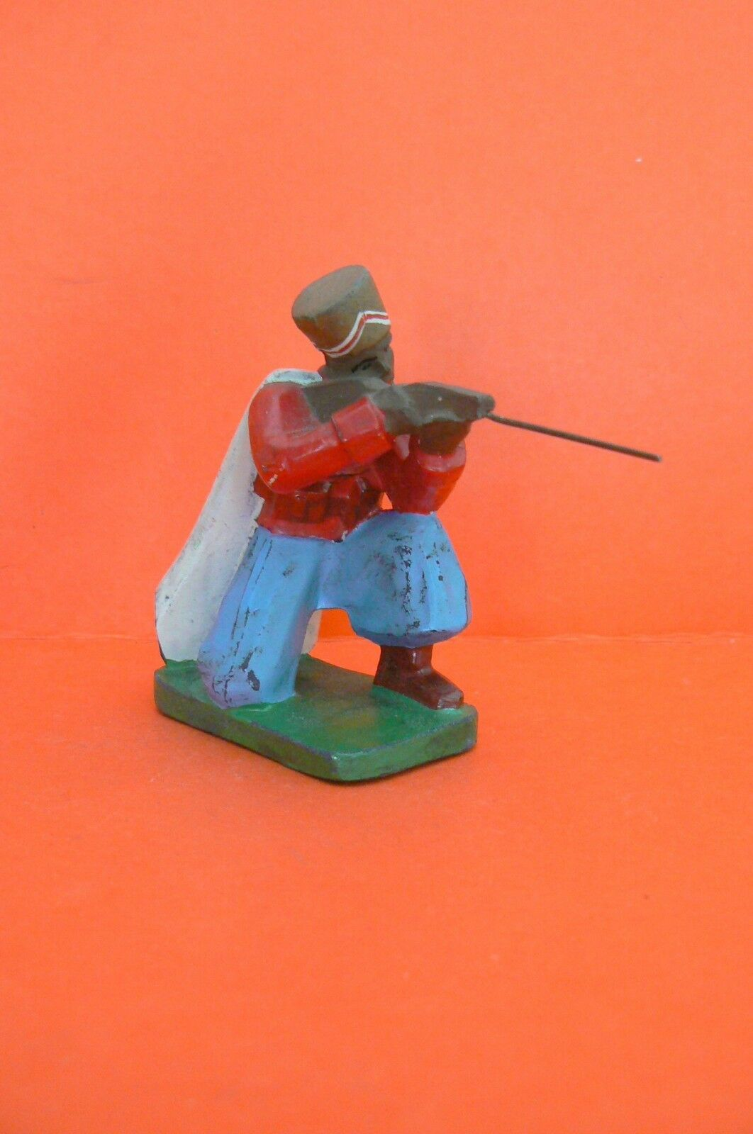 Toy Antique J.R.D Army Colonial-RARE Sipahis at the Battle