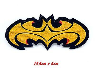 Batman Mask Embroidered Iron On Patch DC Comics Superhero Logo Symbol 140-H