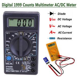 Digital-LCD-Multimeter-AC-DC-Voltmeter-Ammeter-Ohmmeter-Resistance-Volt-Tester