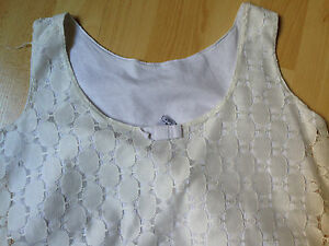 TSHIRT-TBE-13-14-ANS-ZARA-Tee-Shirt-Vintage-DENTELLE-DEBARDEUR-TUNIQUE