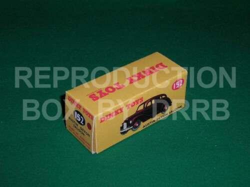 Caja de reproducción por drrb marrón Dinky #152 Austin Devon Sedán