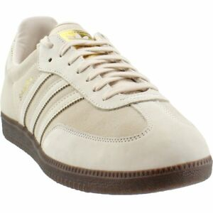buy online 74800 19a9e Image is loading adidas-Samba-FB-Sneakers-Beige-Mens