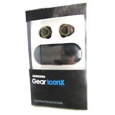 Samsung Gear IconX Fitness Tracker Earbuds Wireless Headphones Black SM-R150