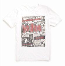 Lucky Brand - Mens L - NWT - White Guns n' Roses Punk 100% Cotton T-Shirt