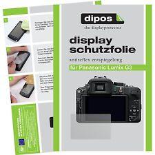 6x dipos Panasonic Lumix DMC G3 matte Displayschutzfolie Antireflex Testsieger