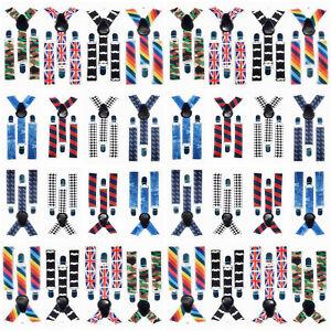 Forte-Enfants-Bretelles-Fashion-Logo-Imprime-Pour-Enfants-Garcons-Filles-Bretelles-UK