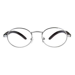ade1419420a7 Details about Mens OG 90s Hip Hop Rapper Luxury Metal Rim Victorian  Eyeglasses