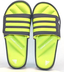 ab1fc291f Adidas Zeifrei Slide K AF4321 Gray   Green US Size 5 - FREE SHIPPING ...