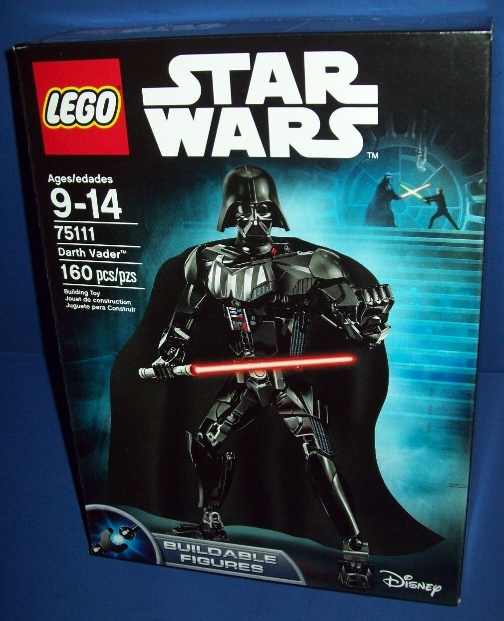 LEGO 75111 DARTH VADER ~ STAR WARS NISB new retirosso buildable figures