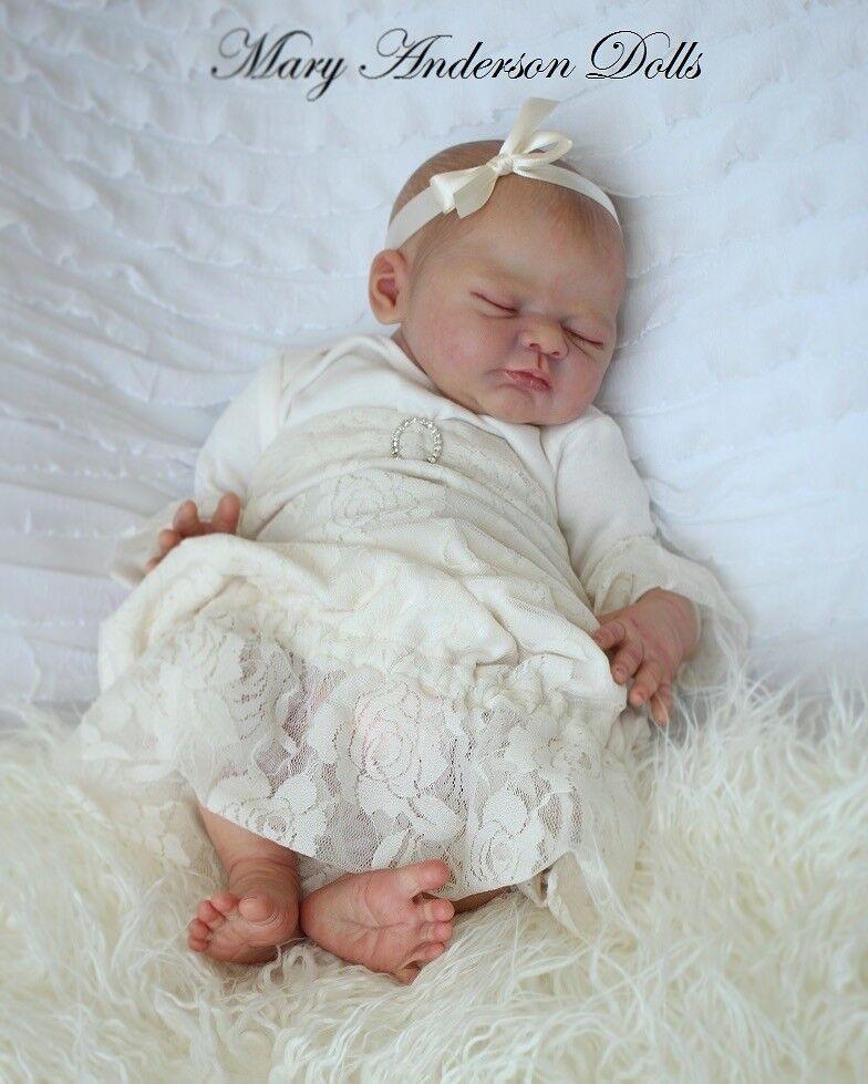 Custom Made Reborn Doll da ILENIA KIT. perfetto Regalo Personalizzato GENNAIO