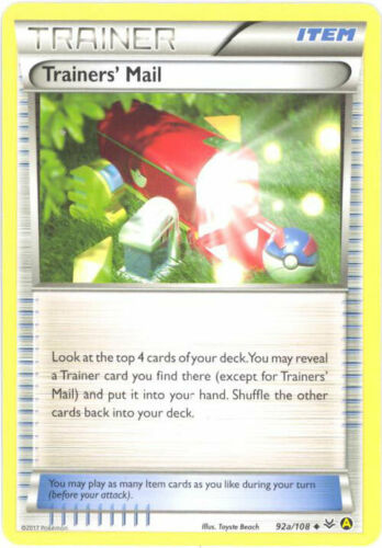 Pokemon Trainers/' Mail 92a//108 XY Roaring Skies  NM-Mint Fast Shipping!