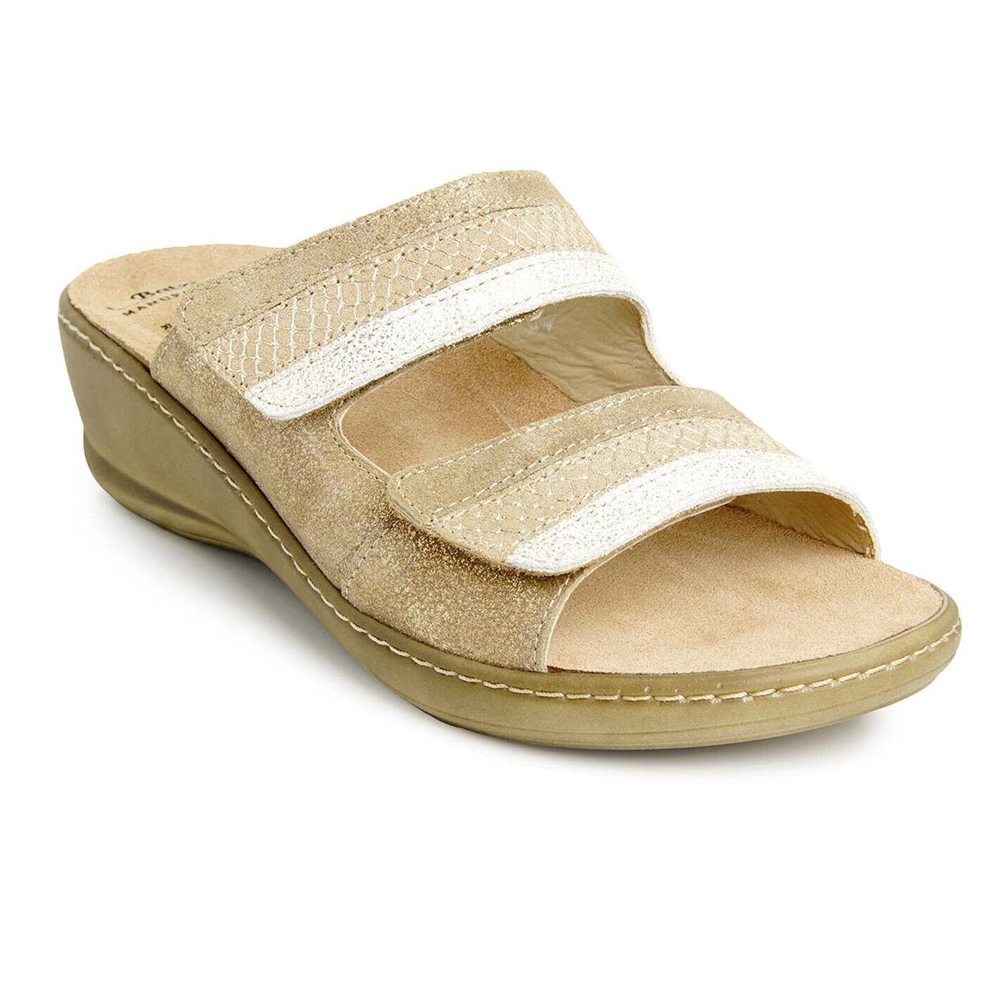 Batz HEDI HEDI HEDI Top Quality Handmade Leather Sandals Clogs Mules Women, gold 7a7e82